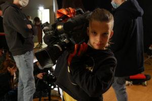 Tournage action enfance cinema village villabé esra camera
